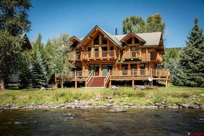 Pagosa Springs Single Family Home For Sale: 61 Harebell