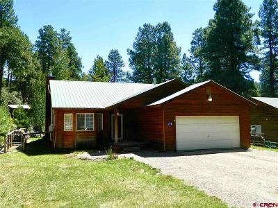 La Plata County Single Family Home For Sale: 779 Forest Lakes
