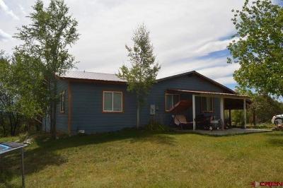 Ignacio Single Family Home For Sale: 139 Mountain View
