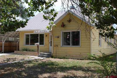 Delta CO Single Family Home For Sale: $140,000