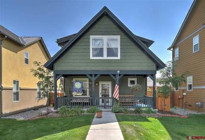 Durango Single Family Home For Sale: 392 Clear Spring