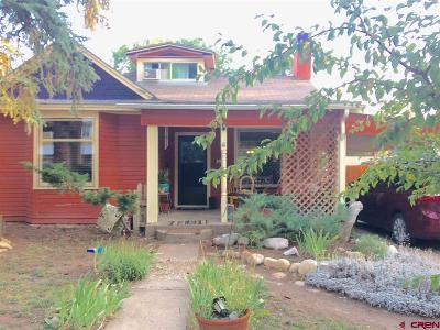 Mancos Single Family Home For Sale: 217 W Grand Avenue