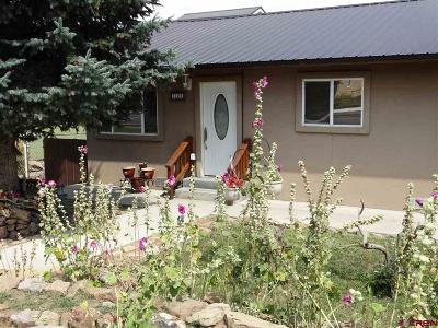 Pagosa Springs Single Family Home For Sale: 334 S 8th Street