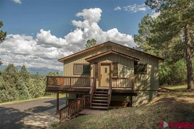 Pagosa Springs Single Family Home For Sale: 395 Rainbow