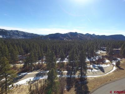 Durango Residential Lots & Land For Sale: Edgemont Highlands
