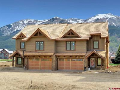 Crested Butte CO Condo/Townhouse For Sale: $1,199,000