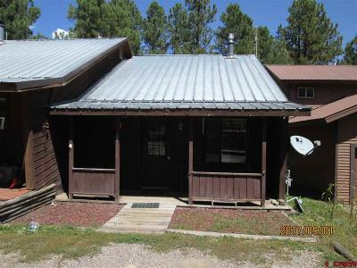 Pagosa Springs Condo/Townhouse For Sale: 25 Lofty