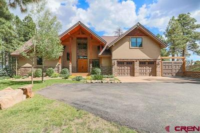 Pagosa Springs Single Family Home For Sale: 495 Kelseya