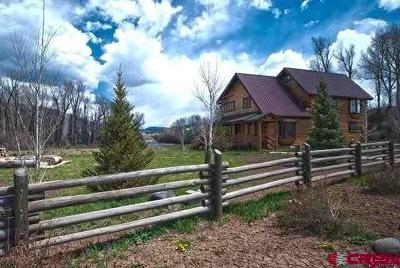 Pagosa Springs Single Family Home For Sale: 1858 E Hwy 160