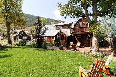 Crested Butte CO Single Family Home For Sale: $1,095,000