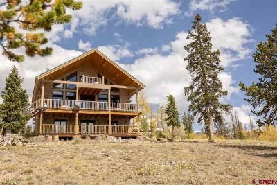 Creede Single Family Home For Sale: 3086 Forest Rd 503