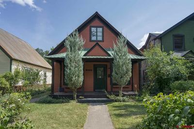 Durango Single Family Home For Sale: 848 E 5th Avenue