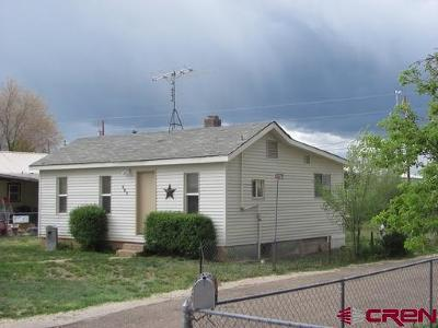 Cortez CO Single Family Home For Sale: $99,999