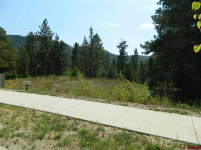 Durango Residential Lots & Land For Sale: Twin Buttes