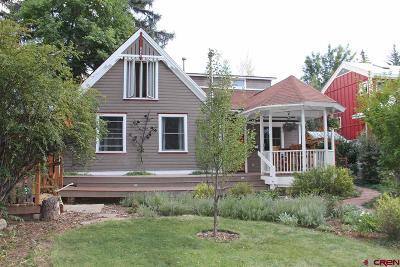 Durango Single Family Home For Sale: 864 E 6th