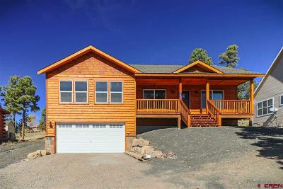 Pagosa Springs Single Family Home For Sale: 48 Putter