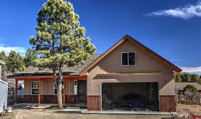 Pagosa Springs Single Family Home For Sale: 183 Caballero
