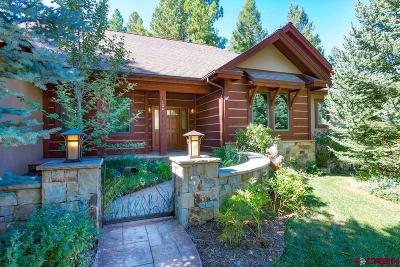 La Plata County Single Family Home For Sale: 124 Ute Pass