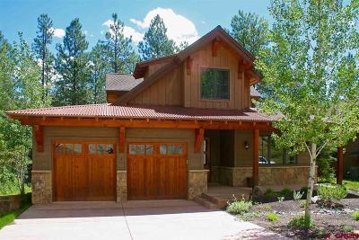 Durango Single Family Home For Sale: 1580 Glacier Club #1