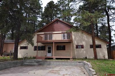 Durango Single Family Home For Sale: 115 Canyon Creek