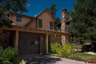 Durango Condo/Townhouse NEW: 590 Glacier Club #12