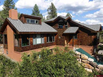 Durango Single Family Home NEW: 105 Rockridge