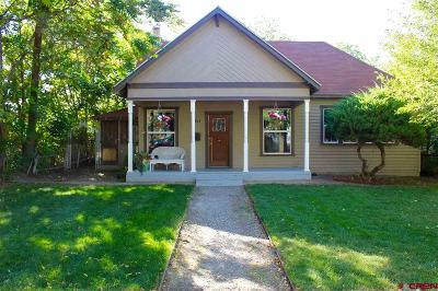 Delta CO Single Family Home For Sale: $155,000