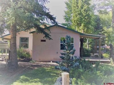 Durango Single Family Home For Sale: 32496 Hwy 550