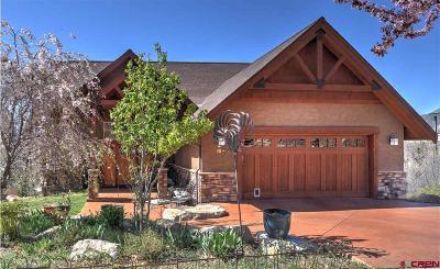 Durango Single Family Home For Sale: 19 Lizard Head