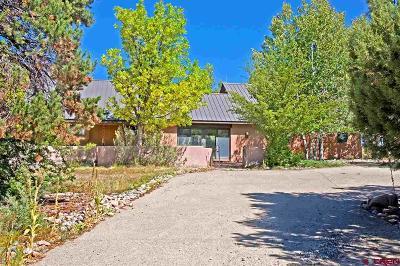 Durango Single Family Home NEW: 1037 Cr 302