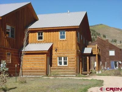 Crested Butte CO Condo/Townhouse For Sale: $419,000