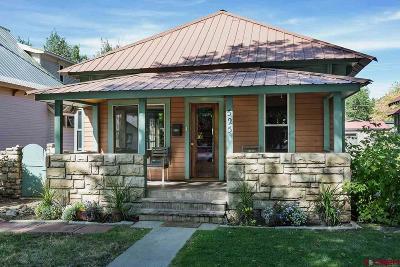 Durango Single Family Home For Sale: 525 E 3rd Avenue