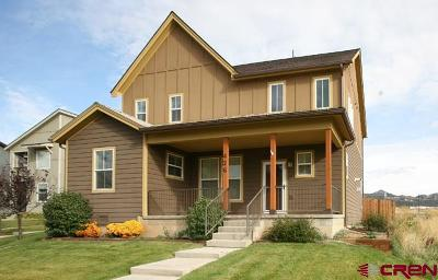 Durango Single Family Home For Sale: 426 Clear Spring