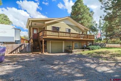 Pagosa Springs Single Family Home For Sale: 10 Tee Court