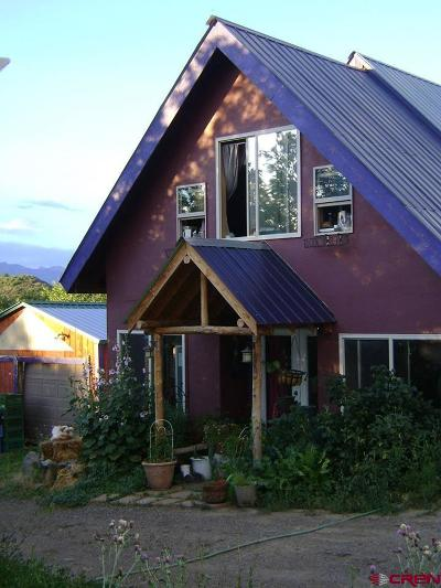 Pagosa Springs Single Family Home For Sale: 344 Blue Jay Circle