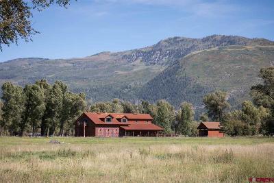 Durango Single Family Home For Sale: 247 Burnett Haul