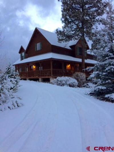 Pagosa Springs Single Family Home For Sale: 638 Stevens Circle