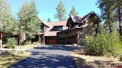 Durango Single Family Home For Sale: 90 Hideout Trail #3