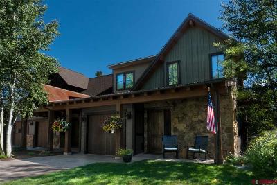 Durango Condo/Townhouse For Sale: 84 Glacier Club #3 #Club Cot