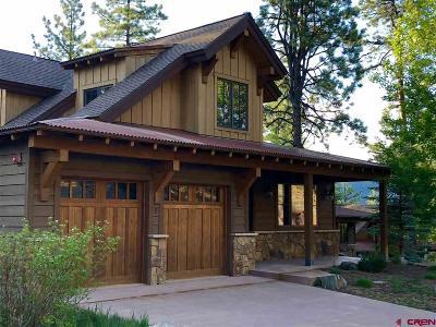 La Plata County Single Family Home For Sale: 1580 Glacier Club Drive #2