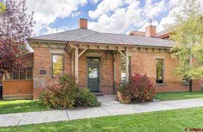 Durango Single Family Home For Sale: 277 E 3rd Avenue #A