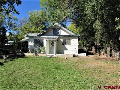 Hotchkiss CO Single Family Home For Sale: $105,000
