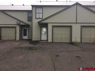 Pagosa Springs Condo/Townhouse For Sale: 21 Golf Place #3