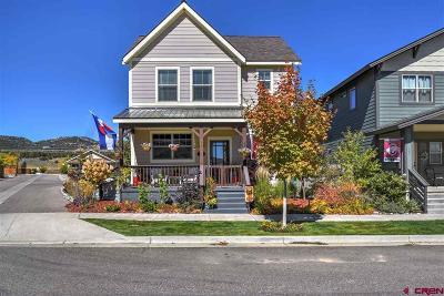 Durango Single Family Home For Sale: 261 Salt Brush