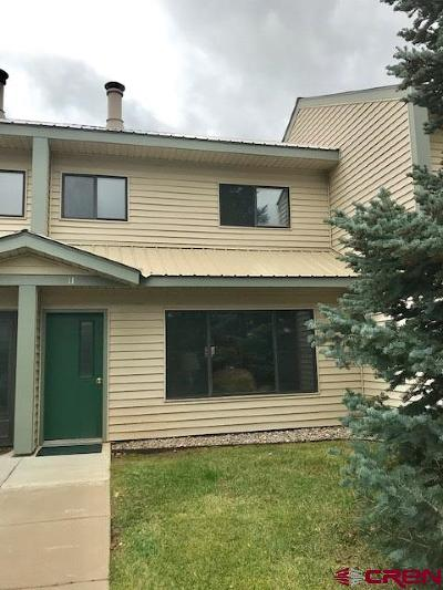 Pagosa Springs Condo/Townhouse For Sale: 284 Talisman #11