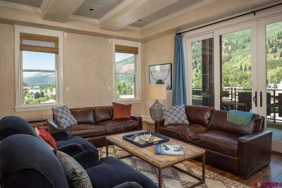Telluride Condo/Townhouse For Sale: 398 S Davis Street #SW 401