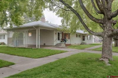 Montrose Single Family Home For Sale: 705 S Uncompahgre #705 &amp