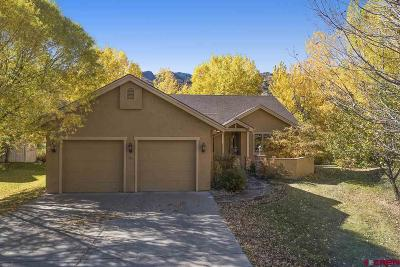 Durango Single Family Home NEW: 584 Horse Thief