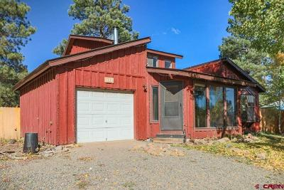 Pagosa Springs Single Family Home For Sale: 626 Dutton Drive