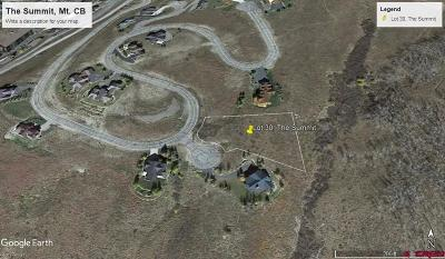 The Summit Residential Lots & Land For Sale: 1 Summit Ct. Road